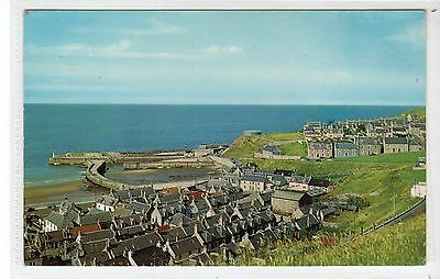 SEATOWN AND HARBOUR, CULLEN: Banffshire postcard (C24554)