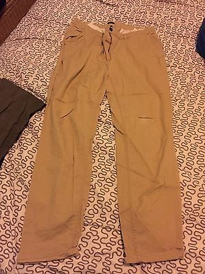 H&M Women's Trousers Camel Coloured Size 14