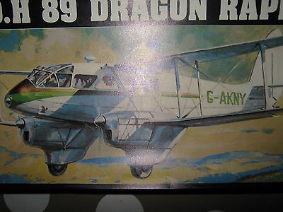 Dragon Rapide Dh 89,unmade In Sealed Pack.1/72 Scale.