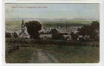 GENERAL VIEW OF BLAIRGOWRIE: Perthshire postcard (C24580)