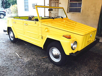 1973 Volkswagen Thing Convertible RARE 1973 VW THING! RUNS EXCELLENT, LOW MILES, SUPER SOLID, NEW TOP, LOW RESERVE