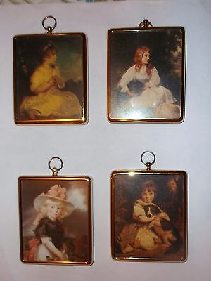 Peter Bates Minature Wall Plaques Collection X 4