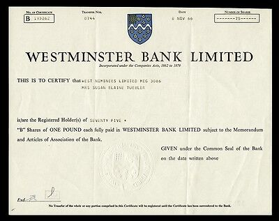 Westminster Bank Limited (1966)