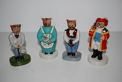 Wade Catkins Job Lot Limited Edition's Town Crier,Cook,City Gent & Gypsy
