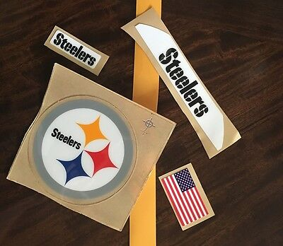 Pittsburgh Steelers Full Size Football Helmet Decals