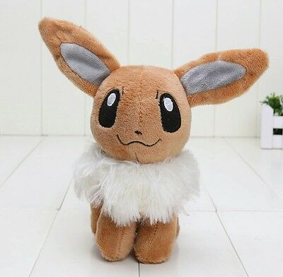 EVOLI POKEMON PLÜSCHTIER KUSCHELTIER STOFFTIER 15cm ORIGINAL PLUSH TOY STUFF
