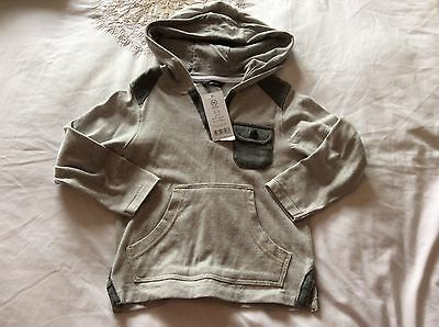BNWT George Boys Hooded Top Size 2-3 years