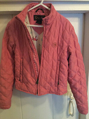 Ariat girls quilted jacket - small/petite