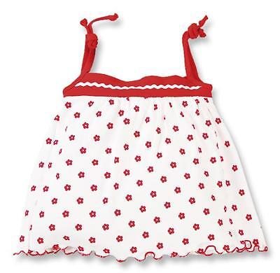 NEW Baby Girl Dress white + red flowers 12 Months  DANY