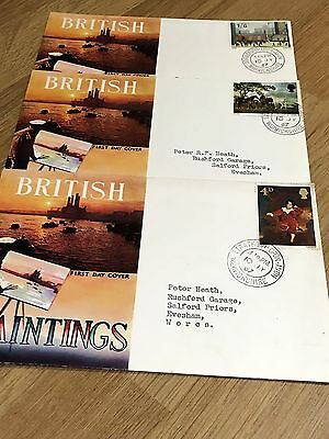 British Paintings 1967 First Day Covers