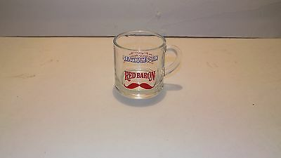 Seagram's Gin Red Baron Dinking Glass Cup