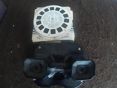 Sawyer's Viewmaster with 24 reels & storage box job lot - may be Bakelite