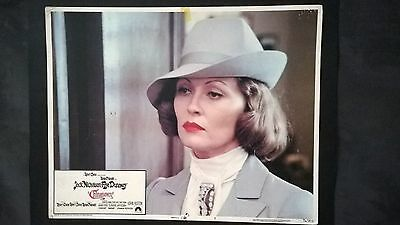 Chinatown (1974) Original U.S.A Theatre Used Lobby Card Faye Dunaway