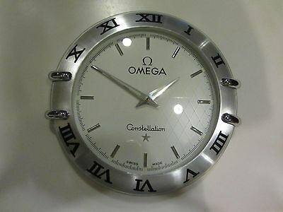 Vintage Rare Omega Constellation Dealers Wall Clock Collectable