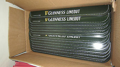 Job lot of 5 Guinness Rugby Line Out Tray Pint Holder 2015 Collectible