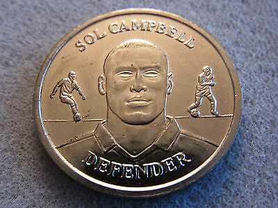 Sol Campbell England Squad Medal Collection Coin