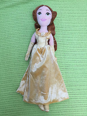 Disney Soft Plush Doll Belle from Beauty & The Beast