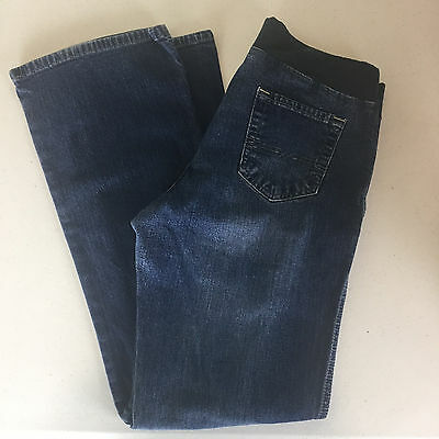 Oh Baby by Motherhood Maternity Jeans Size M Elastic Waistband