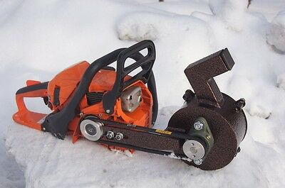 Rock Crusher Chainsaw Attachment Gold Prospecting Sampling Portable Crusher NEW