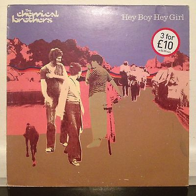 The Chemical Brothers ‎– Hey Boy Hey Girl 12""