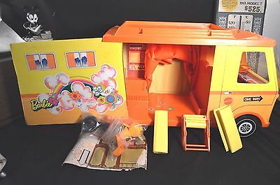 Vintage Barbie Country Camper 1970 Mattel 100% Complete plus Extras WOW Condtion
