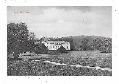 Nice Printed Postcard Of Stratton Park Micheldever Hampshire
