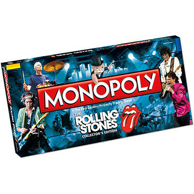 Rolling Stones Monopoly Game (Still Sealed)