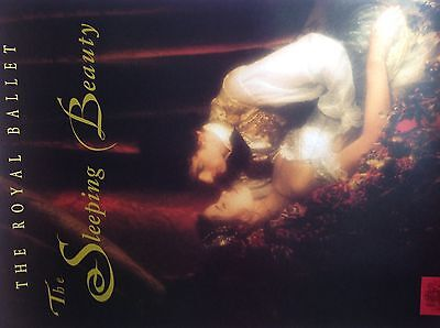 THE SLEEPING BEAUTY Ballet POSTER Royal Opera House, Darcey Bussell, Covent Gdn