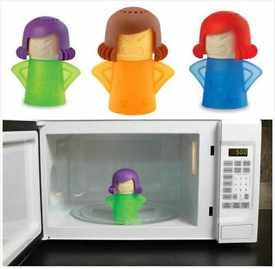 2016 Kitchen Gizmo Angry Mama Microwave Cleaner Steam Cleans Gadget Tool  SN6