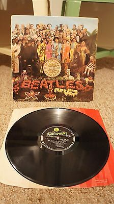 The Beatles Sgt. Pepper's Lonely Hearts Club Band UK FIRST PRESSING Stereo LP