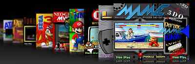 Hyperspin Games PC - Consoles GC, SNES, NES mini Retro Arcade Machine Emulator