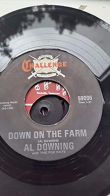 Al Downing  Challenge Repro  Label   45  Down On The Farm