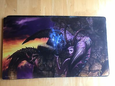 Servant Of The Demoness Playmat By Jim Pavelec Magic The Gathering Mtg
