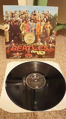 The Beatles Sgt. Pepper's Lonely Hearts Club Band 1973 UK PRESS Stereo LP