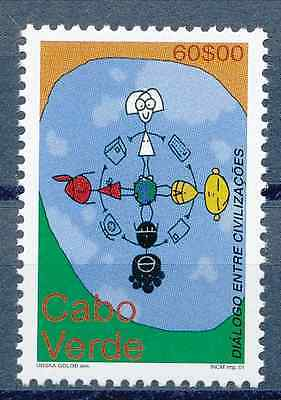 Cabo Verde - 2001 - Dialogue Among Civilizations - MNH / ( ** )