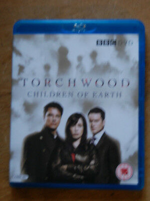 Doctor Who spin-off. Torchwood Children of Earth. BBC. Blu-Ray