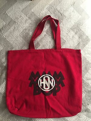 Hanson New MMMBOP Tote Bag VERY RARE Hard to find