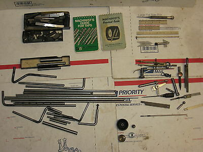 MISC STARRETT AND OTHER MACHINIST TOOLING TOOLS LOT SALE $14Shipping