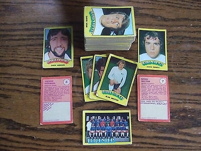 A&BC Gum Football Cards 1974 Near Complete Set 128/132