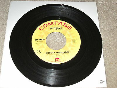 Helena Ferguson - My Terms / Where Is The Party - Compass Label
