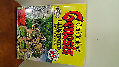 The Book of Genesis, R. Crumb 1st Edition 2009 HB