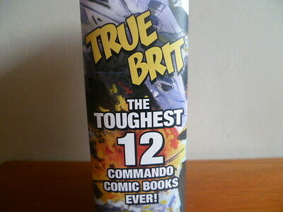 Comics TRUE BRIT The 12 TOUGHEST COMMANDO WAR BOOKS Ever! Great Condition