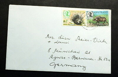 Swaziland cover to Germany    #119