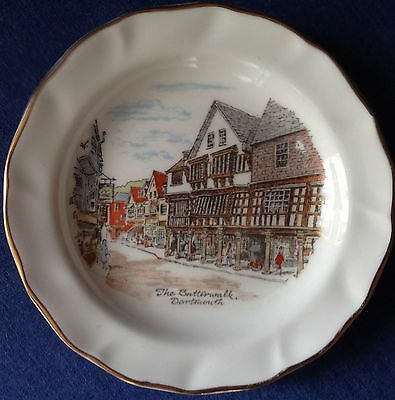 Stanley Cox Ceramics. Totnes Devon. Small dish. The Butterwalk Dartmouth.