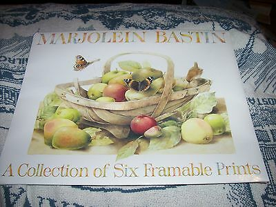 1994 Hallmark Marjolein Bastin A Collection of Six Framable Prints Sealed Unused