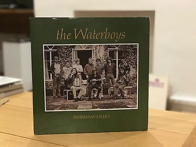 The Waterboys Fisherman's Blues LP Vinyl - Excellent.