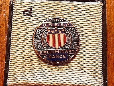 Vintage United States F.S.A. Enameled Dance Pin Dieges & Clust NY, NY