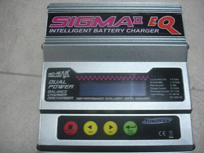 Ripmax Battery Charger Pro-Peak Sigma II EQ AC/DC Charger 50W NO RESERVE