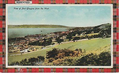 Early Postcard -Port Glasgow - From The West -Real Photo