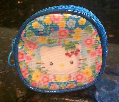 Hello Kitty Blue Coin Purse